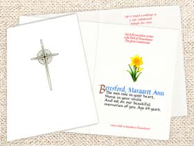 Image of our Memorial Cards