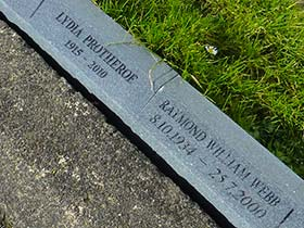 Image of our Granite Kerb Plaques